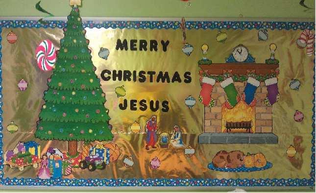 Merry+Christmas+Jesus+Bulletin+Board+Idea+For+Church
