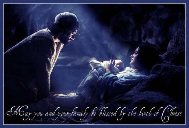 Nativity-Scene Birth of Christ