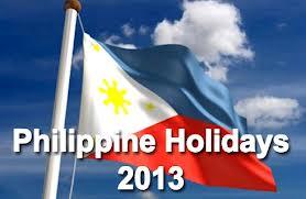 RP holidays 2013