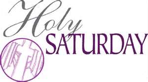 Holy Saturday 1