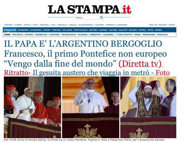 Pope Francis I c