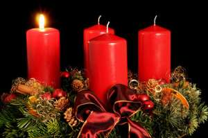 1 Advent candle