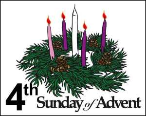 4 Advent candle